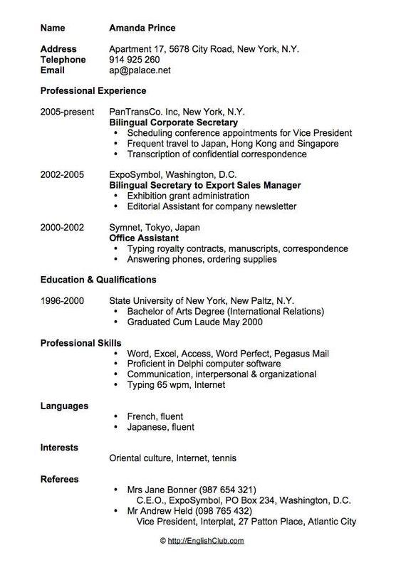 Saleh Zaid (salehzaid6) on Pinterest - resume mission statement