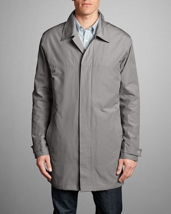 Men's Eddie Microtherm® Trench Coat | Eddie Bauer | Clothing