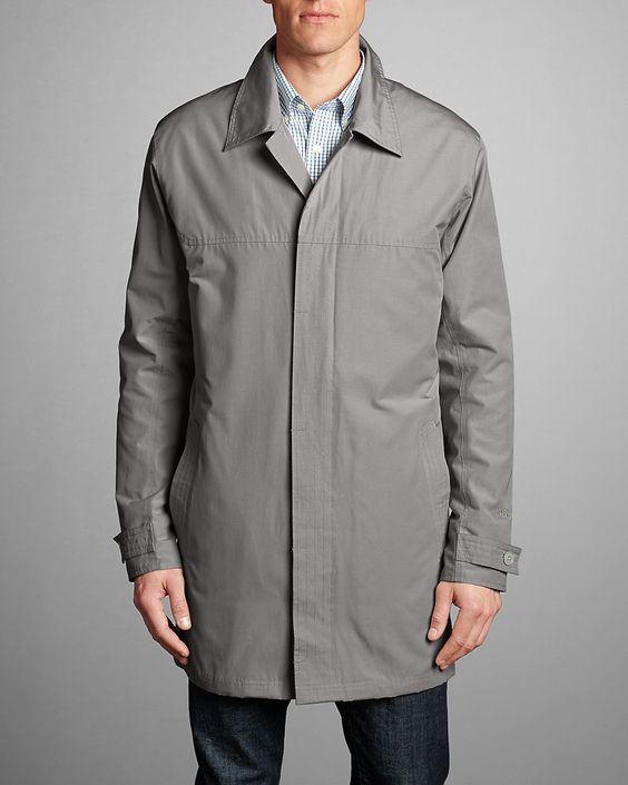 Men's Eddie Microtherm® Trench Coat | Eddie Bauer | Clothing