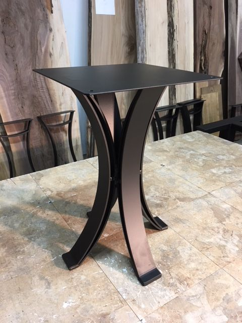 21 5 Inch Tall Eclipse Steel End Table Base Part W 194 Table