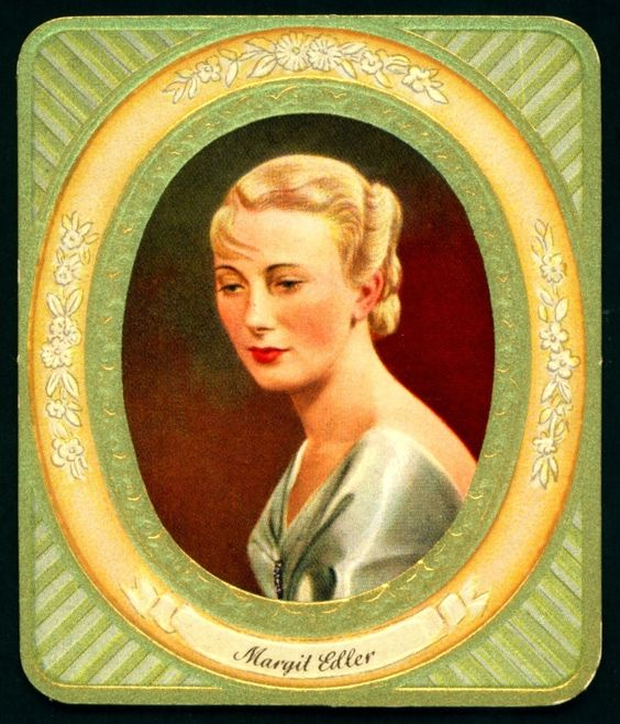 All sizes | German Cigarette Card - Margit Edler | Flickr - Photo Sharing!