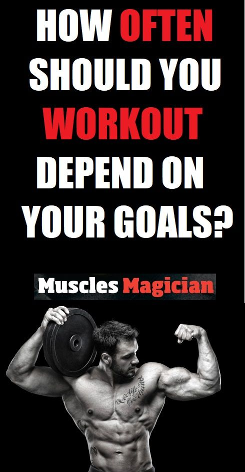 How Often Should You Workout Fun Workouts Workout Fitness Motivation