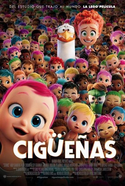 Descargar gratis Cigüeñas pelicula completa en HD español latino