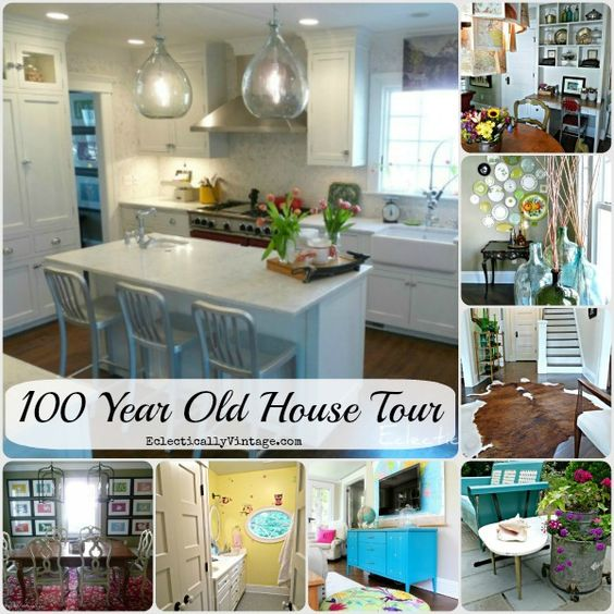 old house tours 100 year old home renovated to
