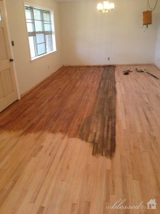 10 Dos And Don Ts For Staining Wood Floors My Blessed Life Old Wood Floors Staining Hardwood Floors Staining Wood Floors