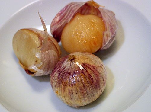 Tip: Freeze Roasted Garlic