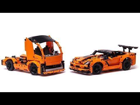 Lego 42093 Corvette Alternative Model Truck Youtube Chevroletcorvetteclassiccars Lego Truck Lego Cars Lego