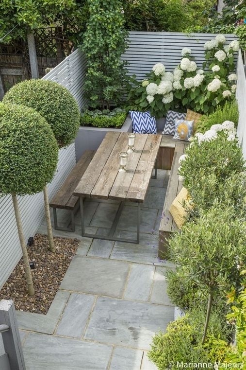 Fulham Slim Subtle Garden Design London Best Urban Ideas On