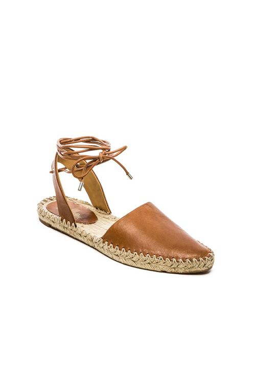Belle by Sigerson Morrison Maie Flat in Tan