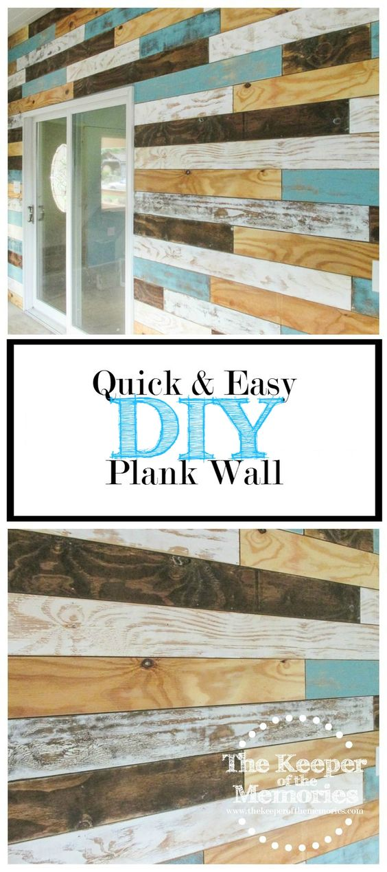 Ready to make your own distressed plank wall? Check out this helpful post full…