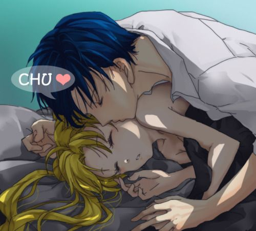 Goodnight My Love    Usagi and Mamoru  (Serena and Darien)
