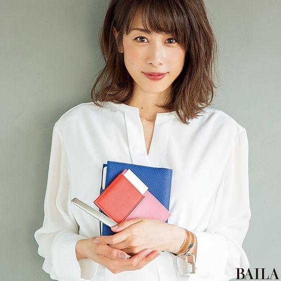 白シャツの加藤綾子
