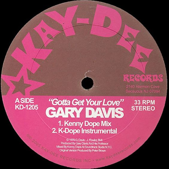 Gary Davis – Gotta Get Your Love (single cover art)