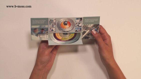 UFO-Turner  Effektkarte mit eldosem Falteffekt/ Endlosfaltkarte