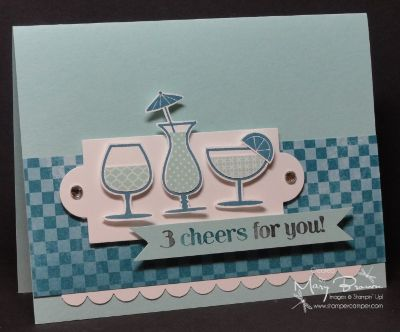 CC381 Happy Hour by stampercamper - Cards and Paper Crafts at Splitcoaststampers