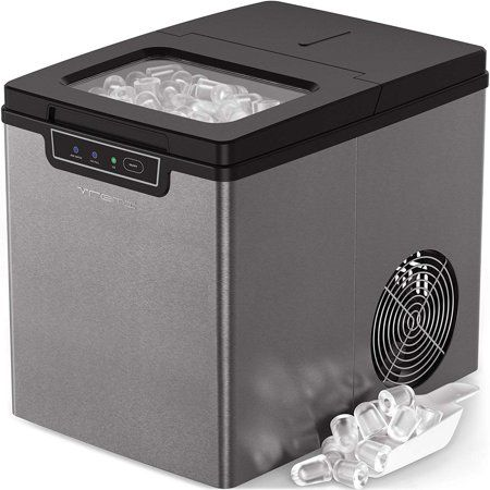 Vremi Countertop Ice Maker Ice Cubes Ready In 9 Min 26lb