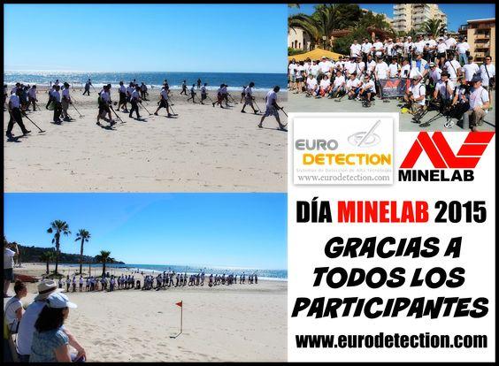 """¡¡GRACIAS a todos los que asistieron y participaron en el """"Día Minelab"""" en Benicássim el pasado sábado!! #Euodetection #DetectorMetal #Minelab #DíaMinelab #España #DíaMinelabEspaña #MetalDetecting #Hobby"""