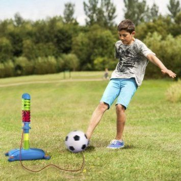 Reflex Soccer Football Sports Swing Ball Training Play Set For Kids by Lets Play Out