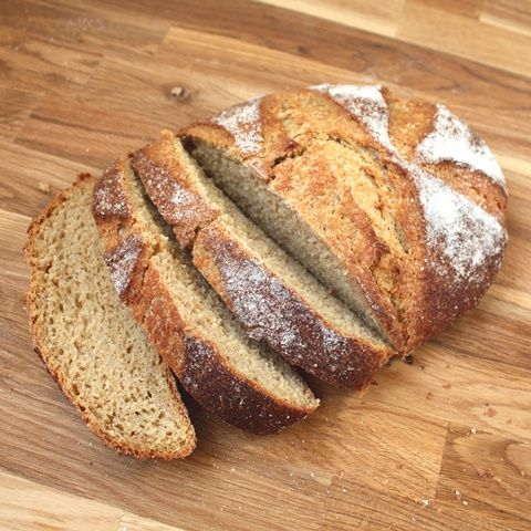 Barefeet In The Kitchen: 100% Whole Wheat Free-Form Artisan Bread