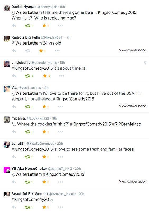 #KingsofComedy2015
