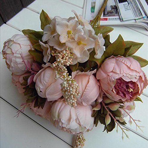 ZGY Ein Bündel gefälschte Pfingstrose Silk Blumen künstlichen Blumenstrauß Haus Garten DIY Hochzeit Party Deko (Hellpink) ZGY http://www.amazon.de/dp/B00NN6DJQ0/ref=cm_sw_r_pi_dp_FRNRub11H0BT4