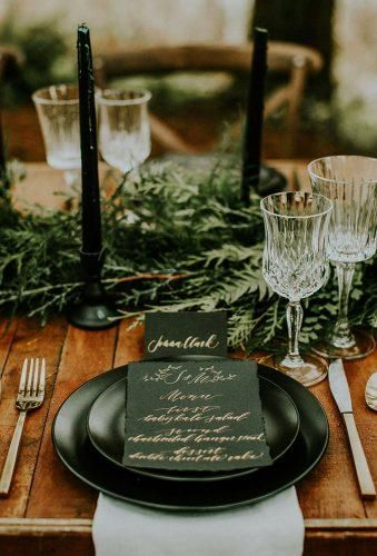 Forest Wedding Theme Ideas ★ forest wedding theme seating place Hazelwood Photography