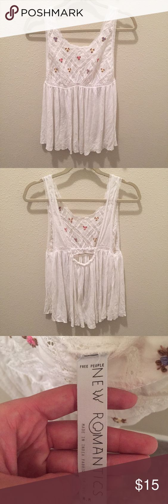 Free People Tank Tank from New Romantics by Free People. In good used condition! Free People Tops Tank Tops