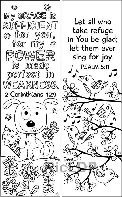 - Set Of 8 Cute Bible Coloring Bookmarks Marker Doodles With Etsy In 2020 Bible  Coloring, Coloring Bookmarks, Bible Verse Coloring Page