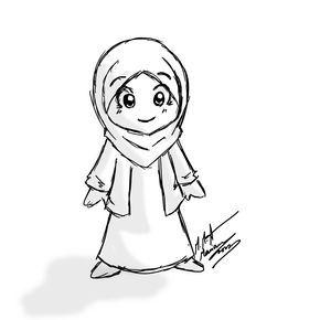 Pin Oleh Arsh Di Animasi Gambar Kartun Kartun Hijab Wallpaper Anime