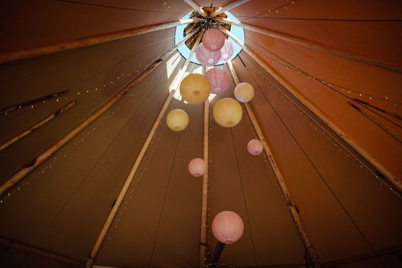 tipi hanging decorations