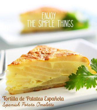 Enjoy the Simple Things - Tortilla de Patatas Española (Spanish Potato Omelette), a recipe on Food52