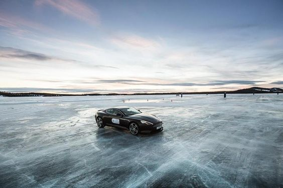Aston Martin set its winter driving experience in the heart of the Rocky Mountains for 2016.