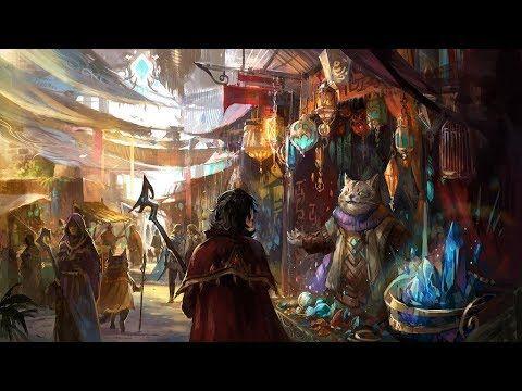 Medieval Fantasy Music – Medieval Market | Folk, Traditional, Instrumental  - YouTube | Medieval market, Fantasy art, Cross paintings