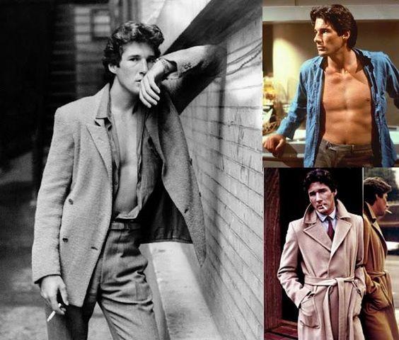 Richard Gear dressed by Giorgio Armani for American Gigolo...