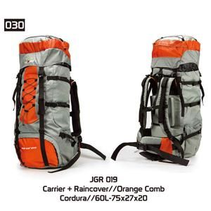 Tas Gunung Hiking Carrier Pria [JGR 019] (Brand Trekking) Original Bandung
