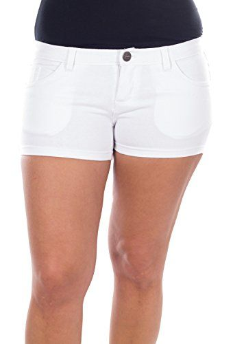 Women Cotton Fitted Low Rise Soft Shorts for Summer & Spring (White, 5/6) Forever Young http://www.amazon.com/dp/B010KE1HA2/ref=cm_sw_r_pi_dp_gZK0vb0Y1Q7AN