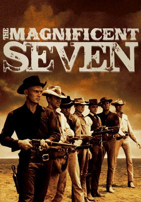 "The Magnificent Seven - the Kings of ""Western"" Cool. Still one of my favorite movies of all time."