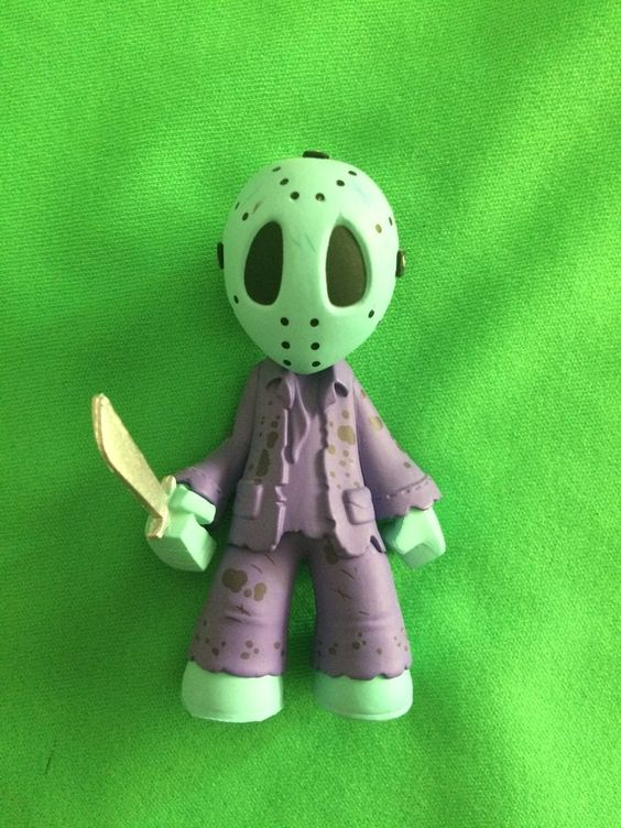 Funko Horror Mystery Minis Variant NES Jason Loose Figure Friday The 13th #FUNKO