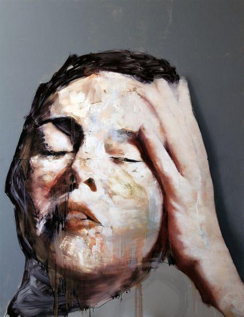 angrywhistler:  Matteo Sbaragli #art #painting #portrait