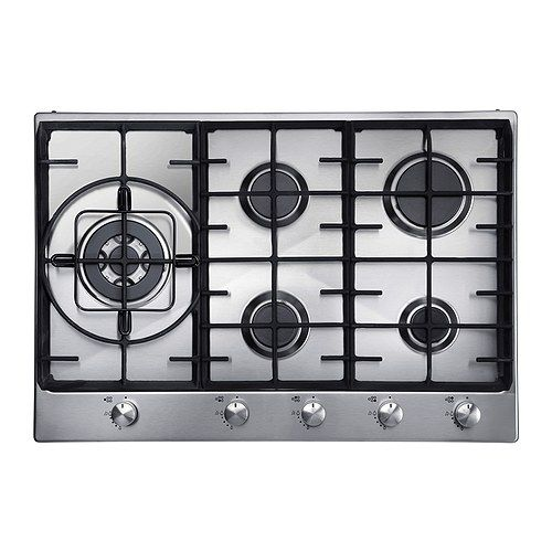 Ikea Gasherd millar 70cm built in 5 five burner gas hob cooker cooktop with