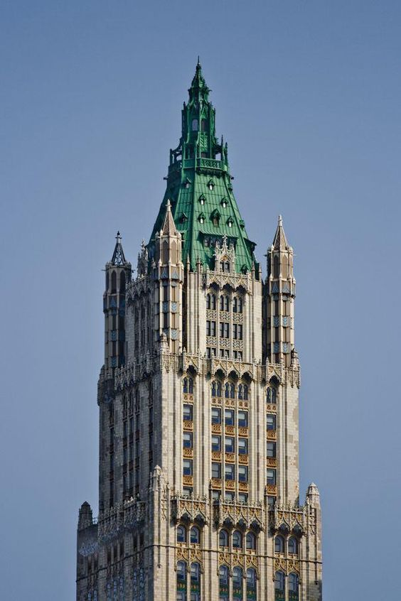 The Woolworth Building - Built in 1913 -