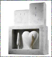 Escultura de Dan Fialdini