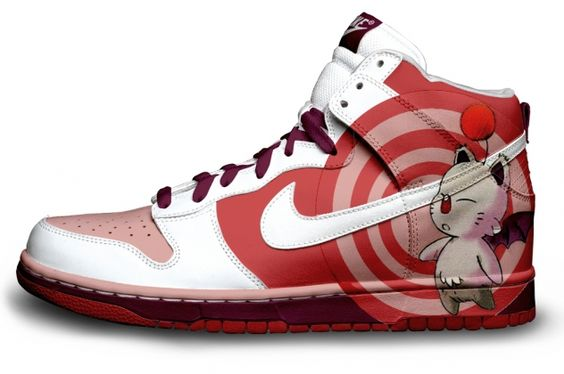 Video Game Sneakers : Moogle
