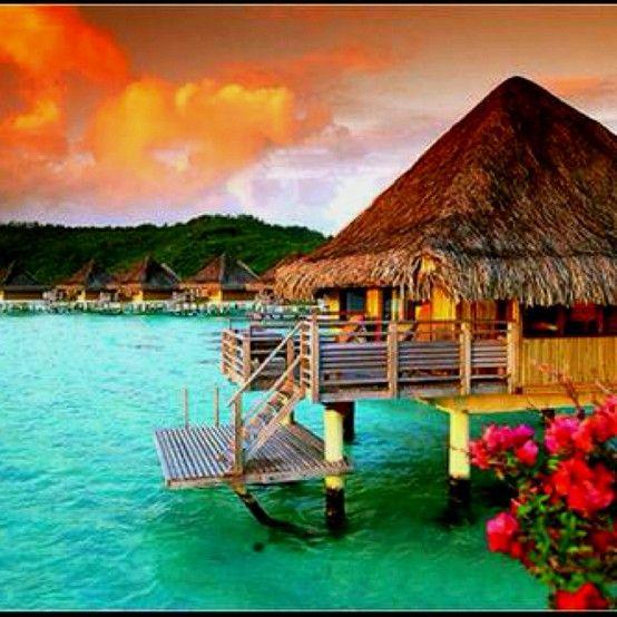 St. Regis Resort. Bora Bora. This is where Im going after winning the MegaMillion!