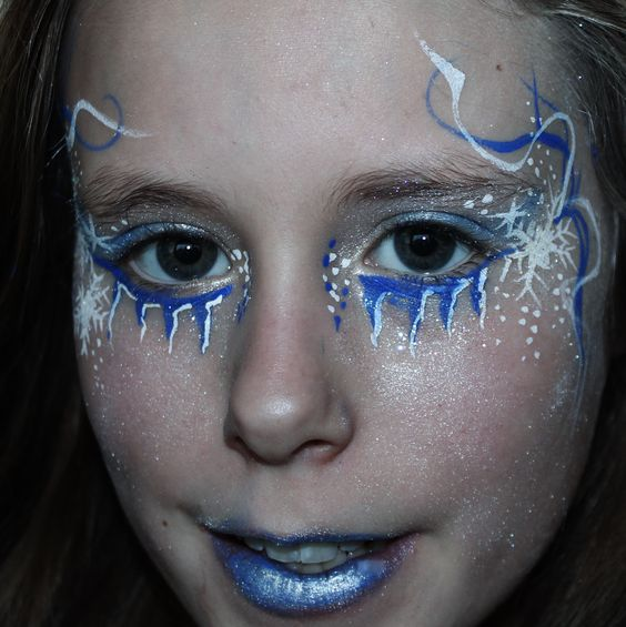 Frozen facepaint - Princess -YC Art