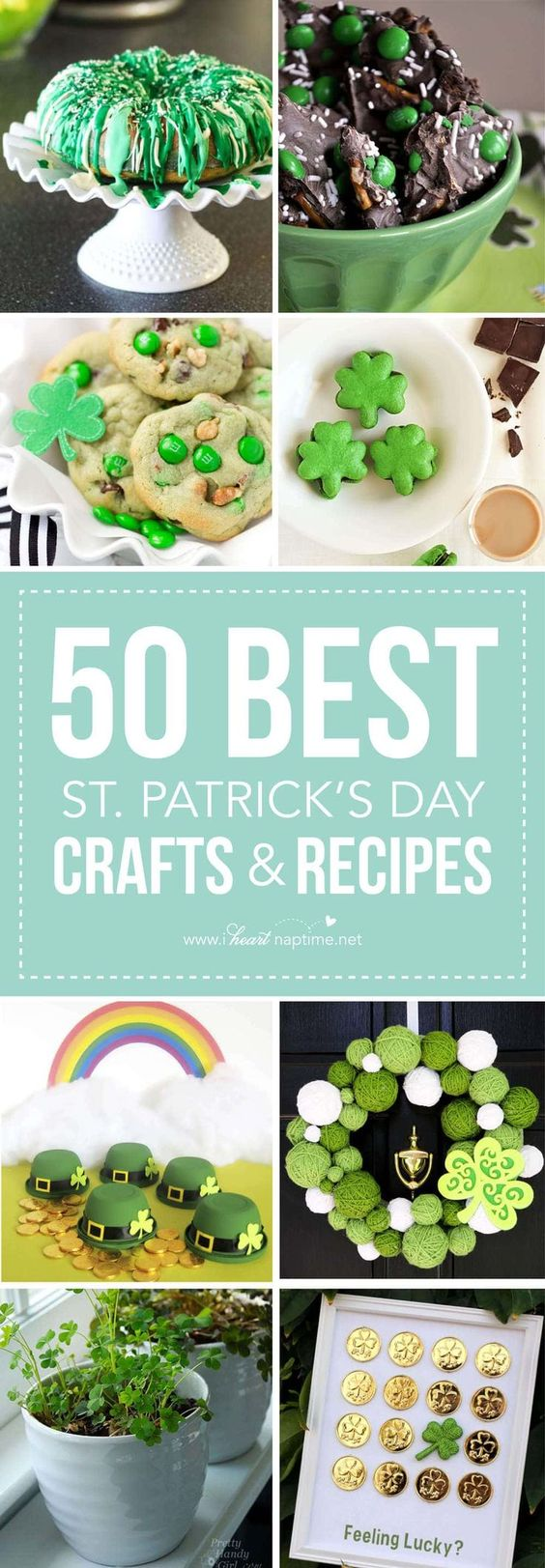 50 BEST Saint Patrick's Day Crafts and Recipes