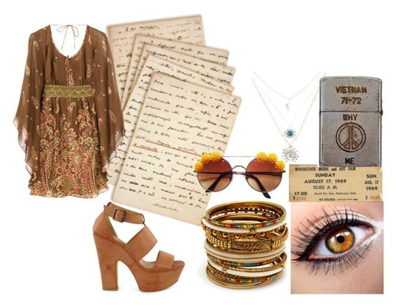 """""""Woodstock 10/16/15"""" by zombies-are-monsters ❤ liked on Polyvore featuring Cultura, TIBI, Nly Shoes, Amrita Singh and Zippo"""