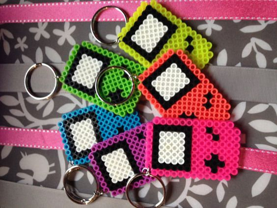 Game Boy Keychains by SmashMillercreations on Etsy, $5.00