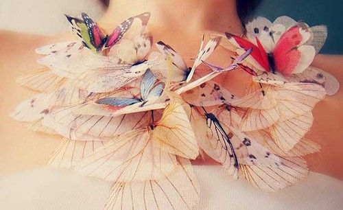 Fluttery Butterfly Jewelry by Derya Aksoy