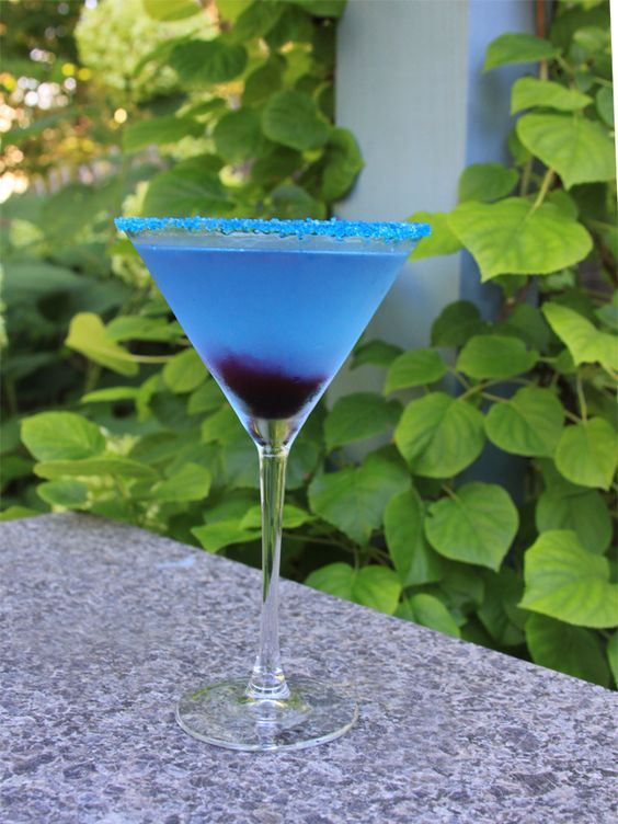 Blueberry Lemon Drop Martini Recipe